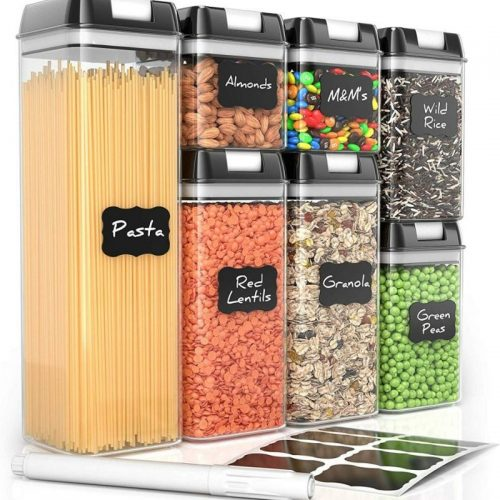 stackable food storage container for coffee
