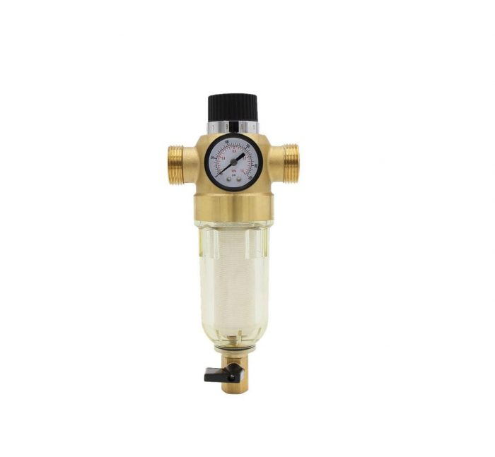 whole house water filter resuable spin down sediment pre filter